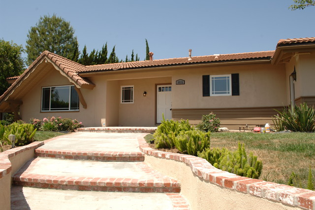 Porter Ranch Remodel - Mediterranean - Landscape - orange county - by White Van Real Estate ...