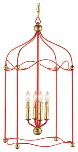 Currey and Company Carousel Lantern eclectic-pendant-lighting