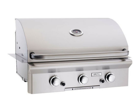 """30"""" Built-In American Outdoor Grill - AOG 30 Inch Outdoor Built-In Gas Grill"""