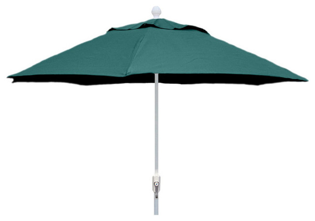 patio umbrella with white finish outdoor umbrellas by vista stores