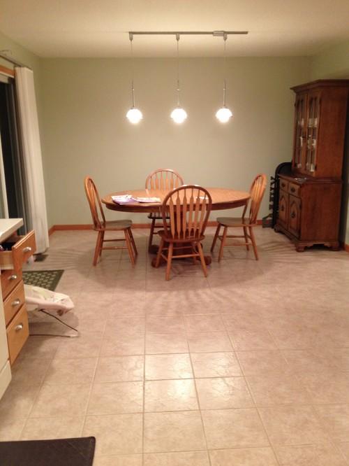 Rug Under Kitchen Table