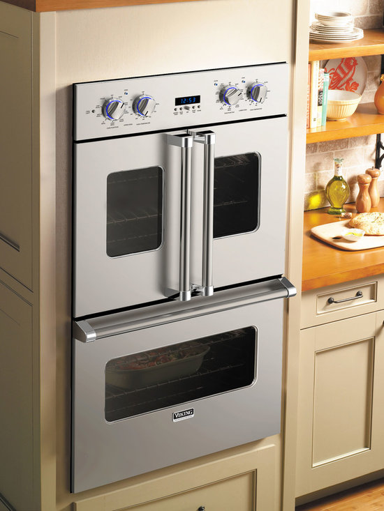 """Viking 30"""" Electric Double French-Door Oven - VDOF730 - Viking VDOF730 - 30"""" Double Electric French-Door Oven"""