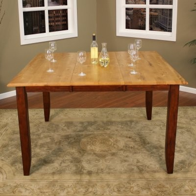 AHB Andria Two Tone Butterfly Counter Height Dining Table contemporary-dining-sets