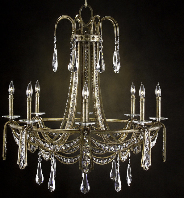 savannah 8 light chandelier traditional chandeliers by frontgate