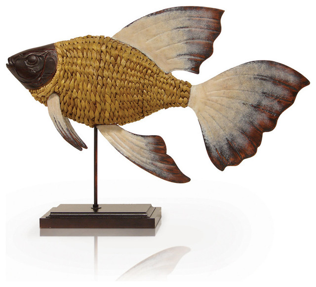 Woven Goldfish Tropical Home Decor By Masins Furniture