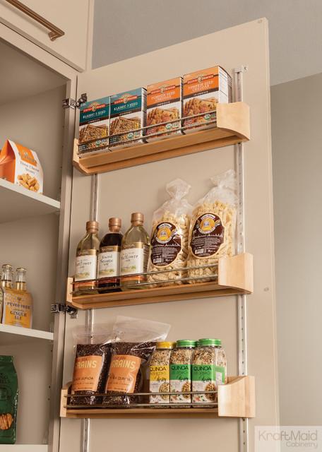 KraftMaid Wood Tall Door Storage Kit Pantry And Cabinet Organizers Detro