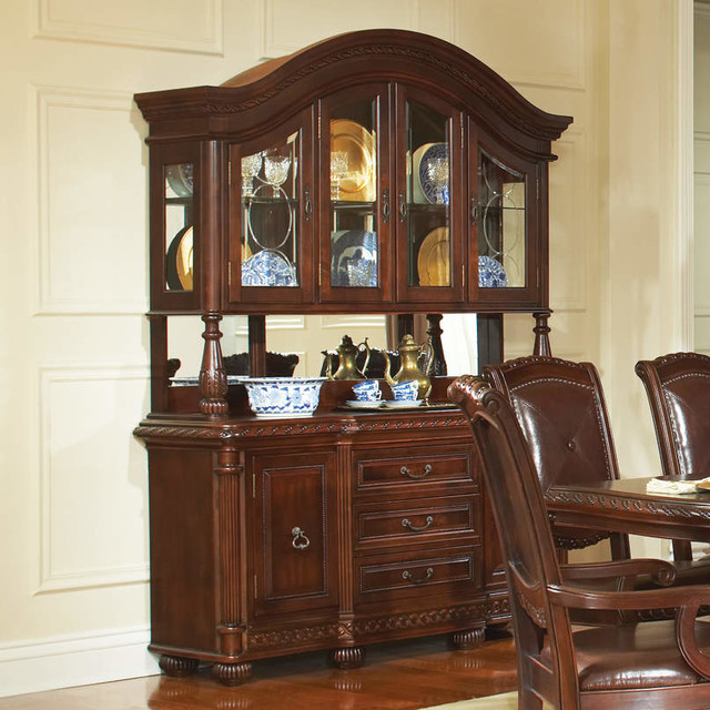 Antoinette Hutch Only - Modern - China Cabinets And Hutches - by Modern Furniture Warehouse