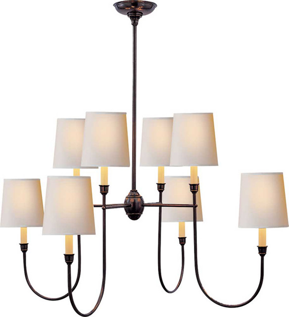 VENDOME LARGE CHANDELIER contemporary-chandeliers