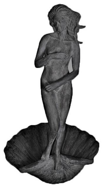 Botticelli Venus Standing On Clamshell Statue