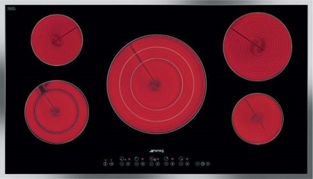 """S2951CXU 36"""" Smoothtop Electric Cooktop with 5 High-Light Radiant Elements Inclu contemporary-cooktops"""
