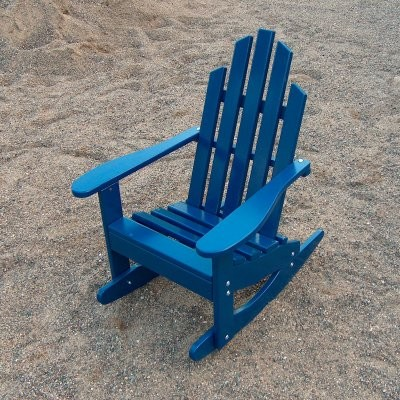 Prairie Leisure Junior Adirondack Rocking Chair traditional-outdoor-chairs