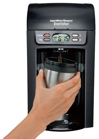 Hamilton Beach 6 Cup Digital BrewStation contemporary-coffee-and-tea-makers