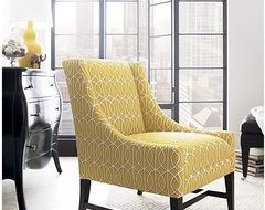 yellow chair contemporary-chairs