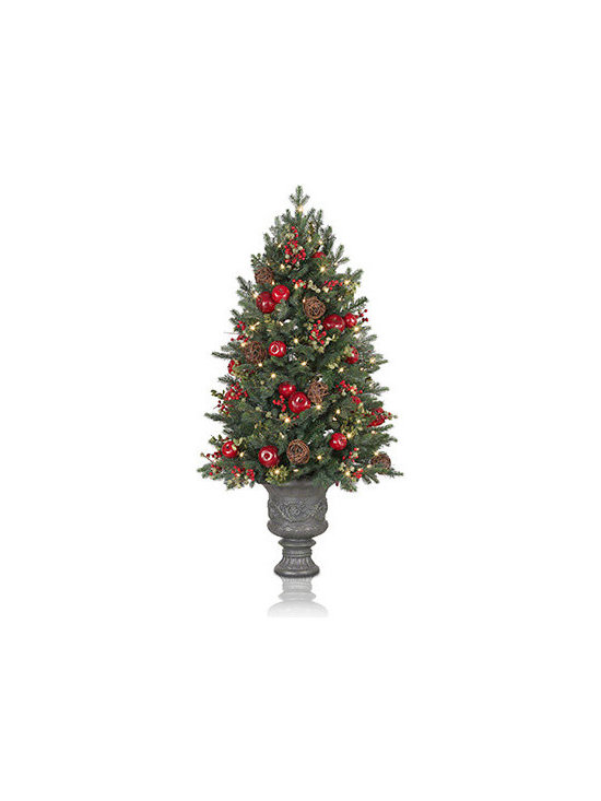 Balsam Hill Norway Spruce Holiday Potted Artificial Christmas Tree - THE SOPHISTICATION OF BALSAM HILL'S NORWAY SPRUCE HOLIDAY POTTED TREE |