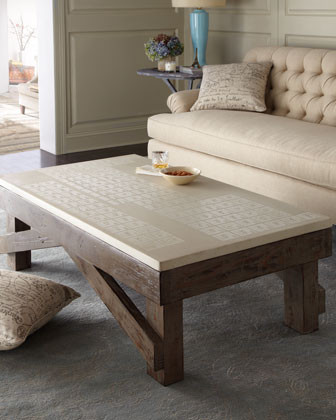 Haute House Elements Coffee Table traditional-coffee-tables