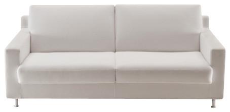 """CIAK Sofa Bed 75"""", Aluminum Legs contemporary-futons"""
