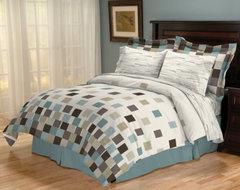 Sander Sales Venue Reversible Bed in a Bag contemporary-bedding