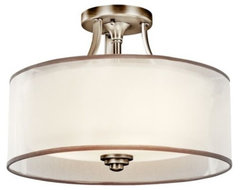 Lacey Semi-Flushmount contemporary ceiling lighting