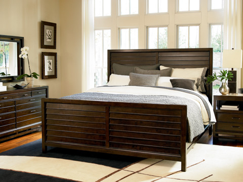 Panel Bed traditional-beds