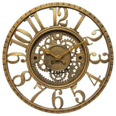 Gear Wall Clock eclectic-clocks