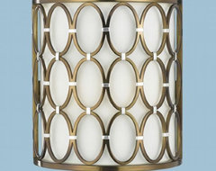 Candice Olson Cosmo Sconce eclectic-wall-sconces