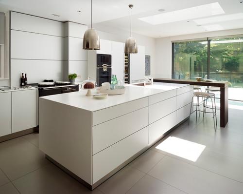 Stilrent og moderne  Kjøkken Inspirasjoner