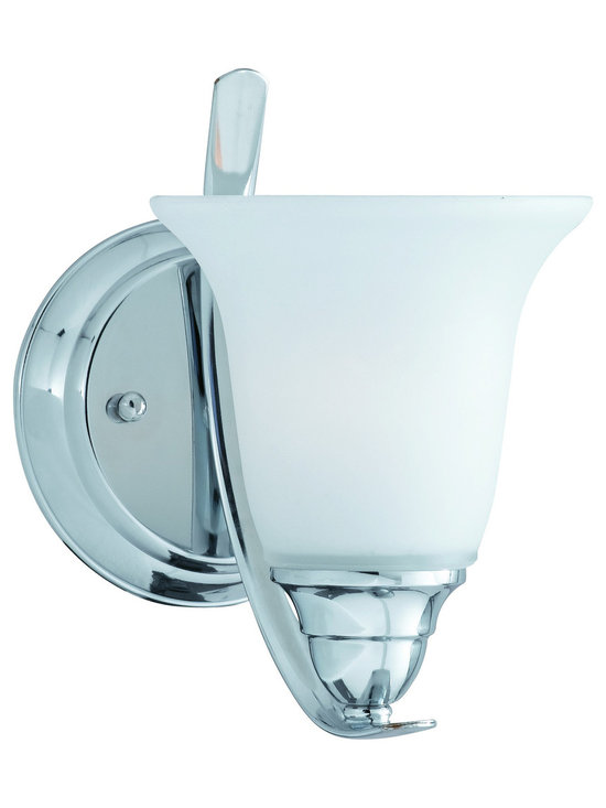 Triarch International - Triarch 33250/1 Value Series Chrome Wall Sconce - Triarch 33250/1 Value Series Chrome Wall Sconce