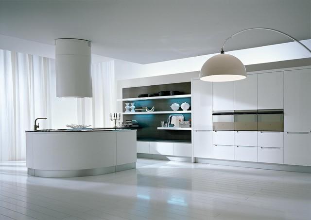 Integra White modern-kitchen-cabinets