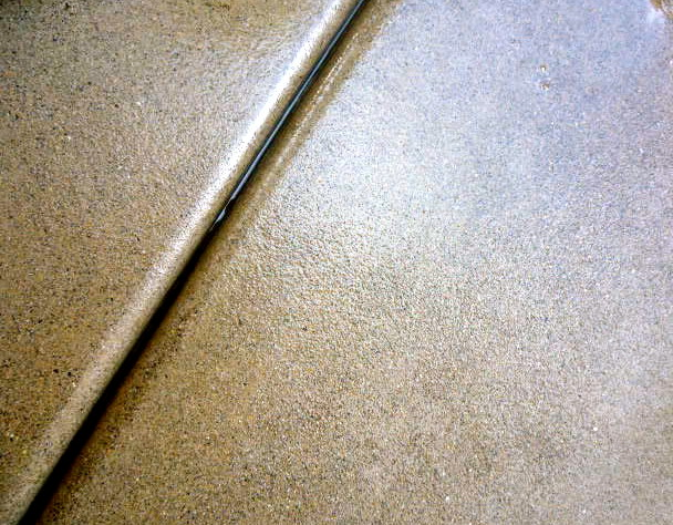 Hardscape Sand Finish Concrete Smooth Stucco Clear Cedar Contemporary Exterior Other