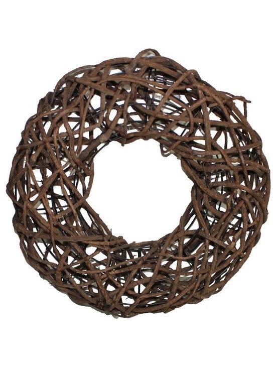 Garland Decoration - SKU: EN22012 - Brown circle figure Garland decoration fits in any location at home.