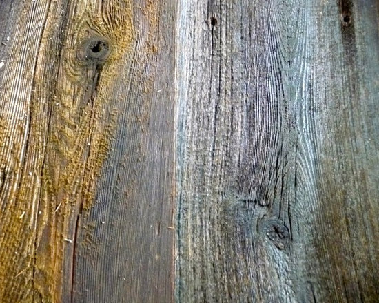 Reclaimed Barn Wood: Red, Gray & Brown - Our reclaimed barn wood siding is a mix of species harvested from barns and other rural structures here in the Appalachian Mountains. This authentic barn siding is weathered and faded to its present day condition. The wood has been hand selected, de-nailed by eye, and board ends have been trimmed. Our back-planing of each board maintains the integrity of the wood's face, at the same time ensuring equal thickness so that, once laid, it will create a smooth and even surface. Additionally, the straight-edging process will keep the lengthwise alignment consistent. This inventory is one-of-a-kind with its distinct heritage and classic features.