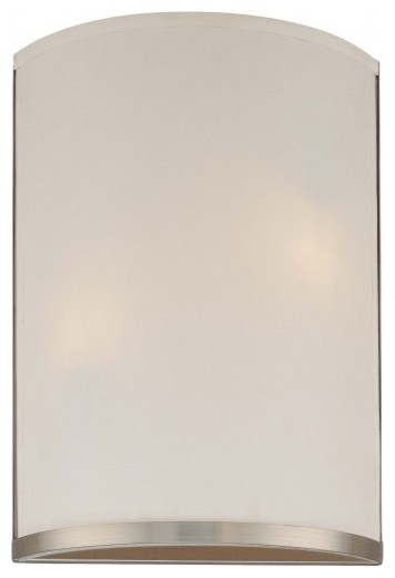 George Kovacs Two Light Wall Sconce Energy Saver contemporary-wall-sconces