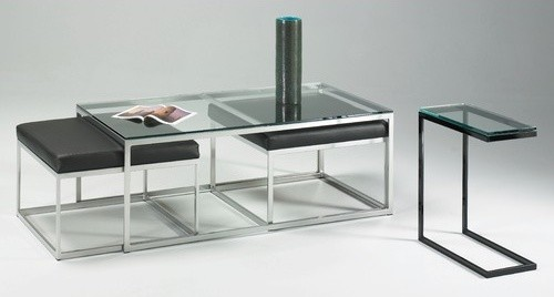 Modulus Cocktail Table Set modern-coffee-tables