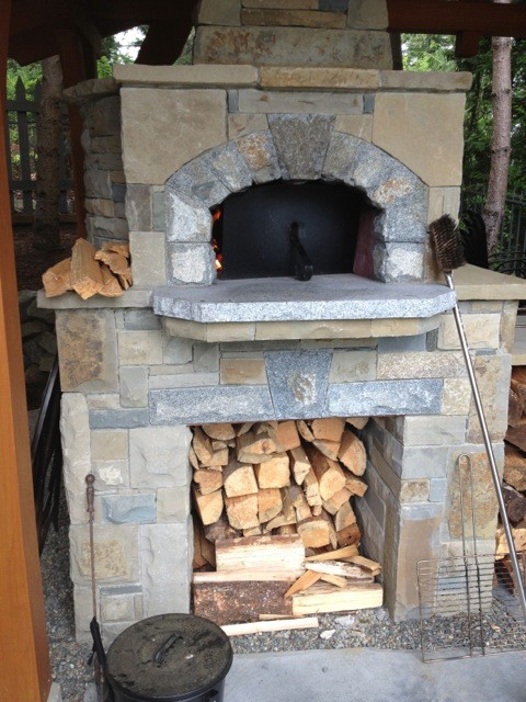 Mugnaini Outdoor Wood Fired Ovens Pizza Oven Traditional Outdoor Pizza