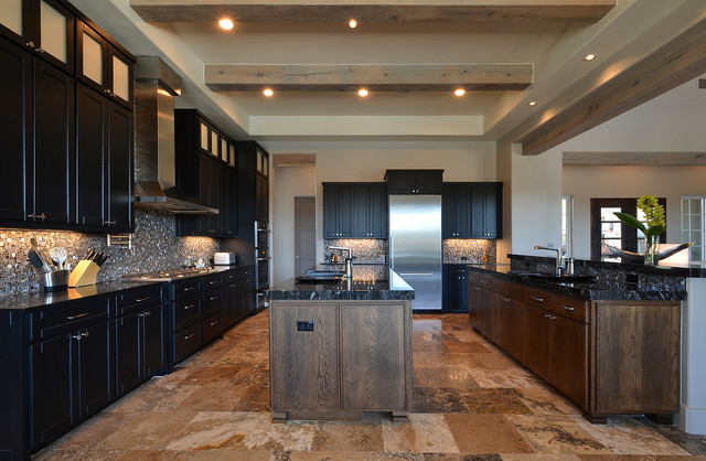 Rough Hollow Dream Home contemporary-kitchen