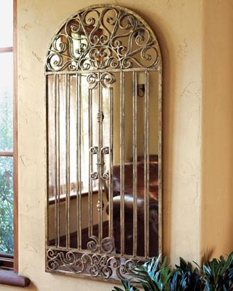 Garden Gate Mirror traditional-mirrors