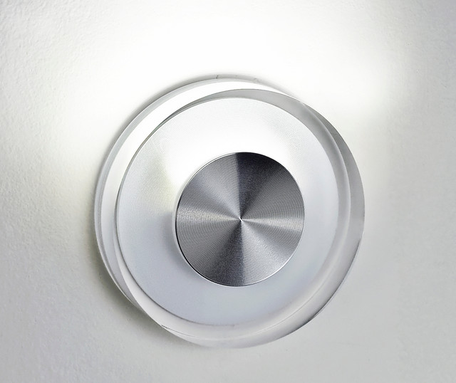 Dial LED Wall Sconce by Edge Lighting contemporary-wall-sconces