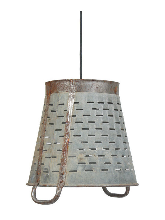Go Home - Vintner's Basket Light - Our Vintage Industrial Collection is the definition of urban chic. Reclaimed wood, rusted iron and time worn accents insure that our unique collection of furniture, accessories and lighting will take center stage in any style of decor. Mix and match with our Rural Chic and Lodge Collections for a stylish eclectic look your friends will think you paid a designer for.