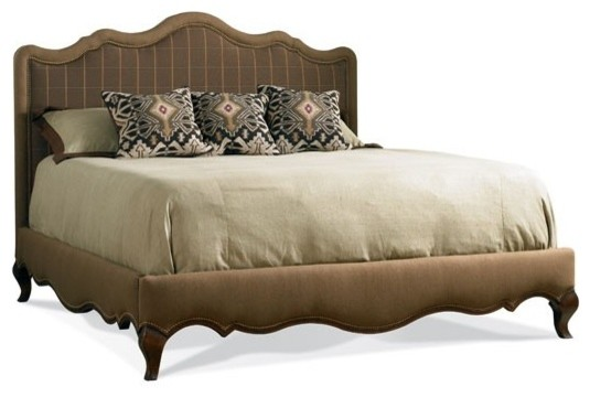 Hickory White Tuscan Home Queen Upholstered Bed beds