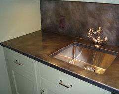 Zinc Countertop Diy : Think Zinc for Kitchen Countertops
