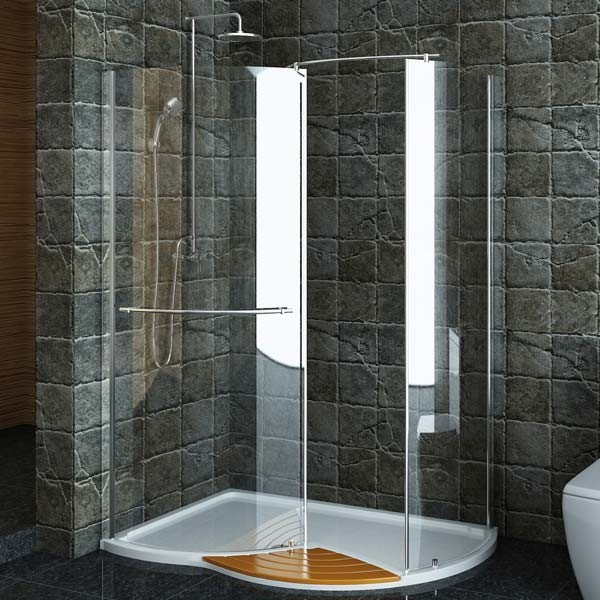 Technik right hand walk in shower enclosure 1430 x 940 for Walk in shower plans and specs