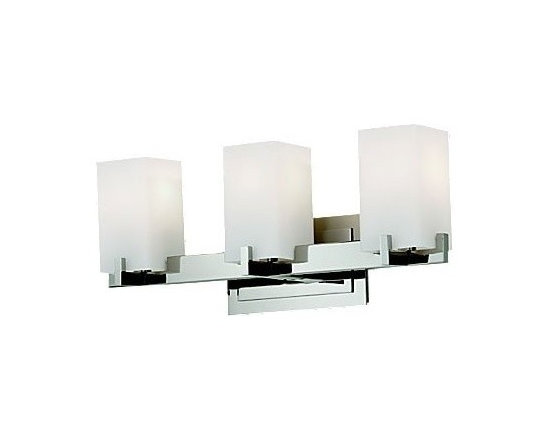Riva 3LT by Murray Feiss Bathroom Sconce - This is a line we have used for its style and affordability, believe me, its isn't that easy to find well priced, attractive lighting! This three light sconce will work well above a vanity mirror, in a contemporary feeling bathroom or mixed into a eclectic feel.