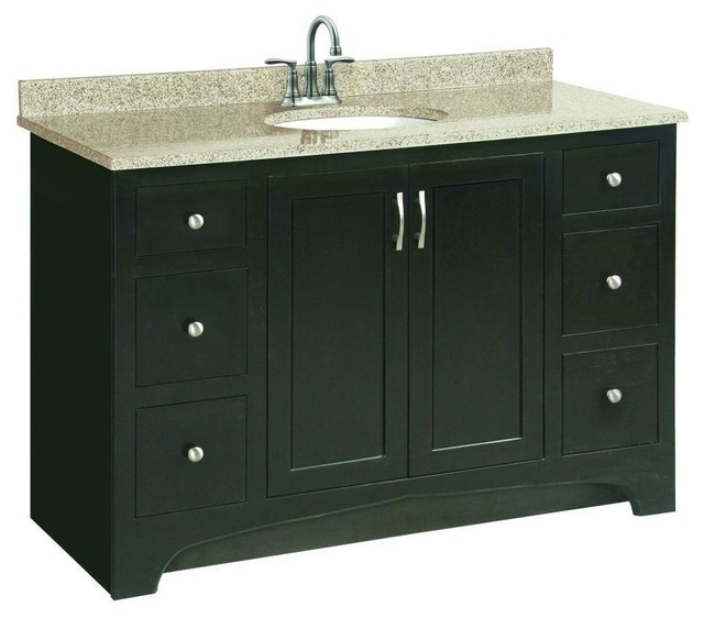 Amazing DESIGN HOUSE VENTURA BATHROOM VANITY CABINET READY TO ASSEMBLE 2