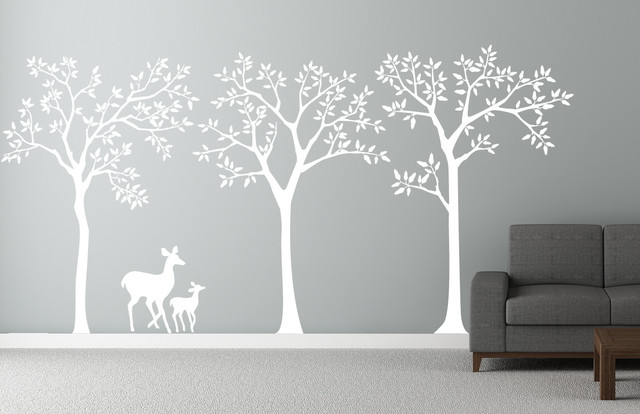 Forest Theme Decal contemporary-decals