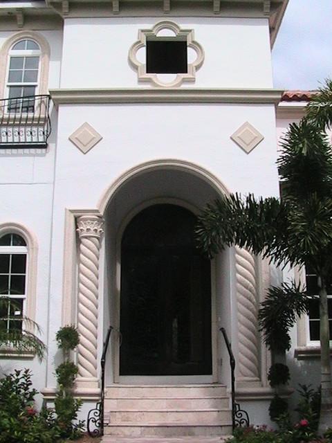 Forge Iron Designs Wrought Iron Doors mediterranean-front-doors