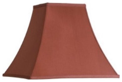 Charlotte Red Pagoda Lamp Shade contemporary-lamp-shades