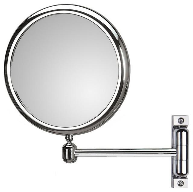 Doppiolo 47-1 Magnifying Mirror 3x - 6x contemporary-bathroom-mirrors