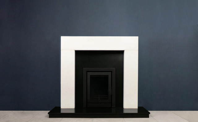 Irish Fireplaces - Modern I -5KW Fireplace Package contemporary-fireplaces