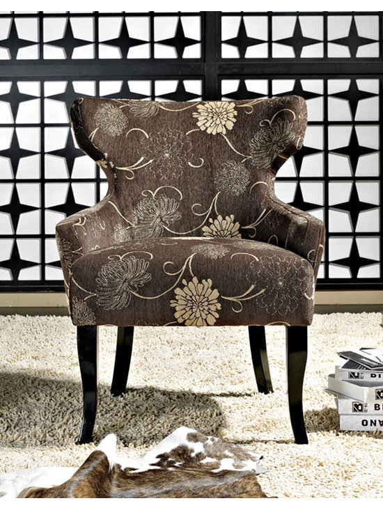 Abbyson Living - Bayview Fabric Lounge Chair -