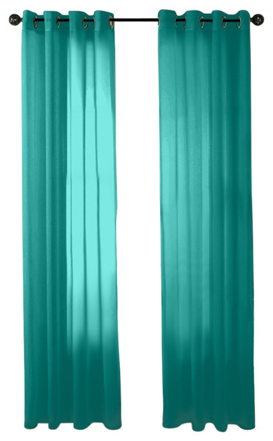 Teal Sheer Curtain Panels Outdoor Sheer Curtain Panels